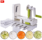 Know More About Veggie Spiralizer Food Slicer