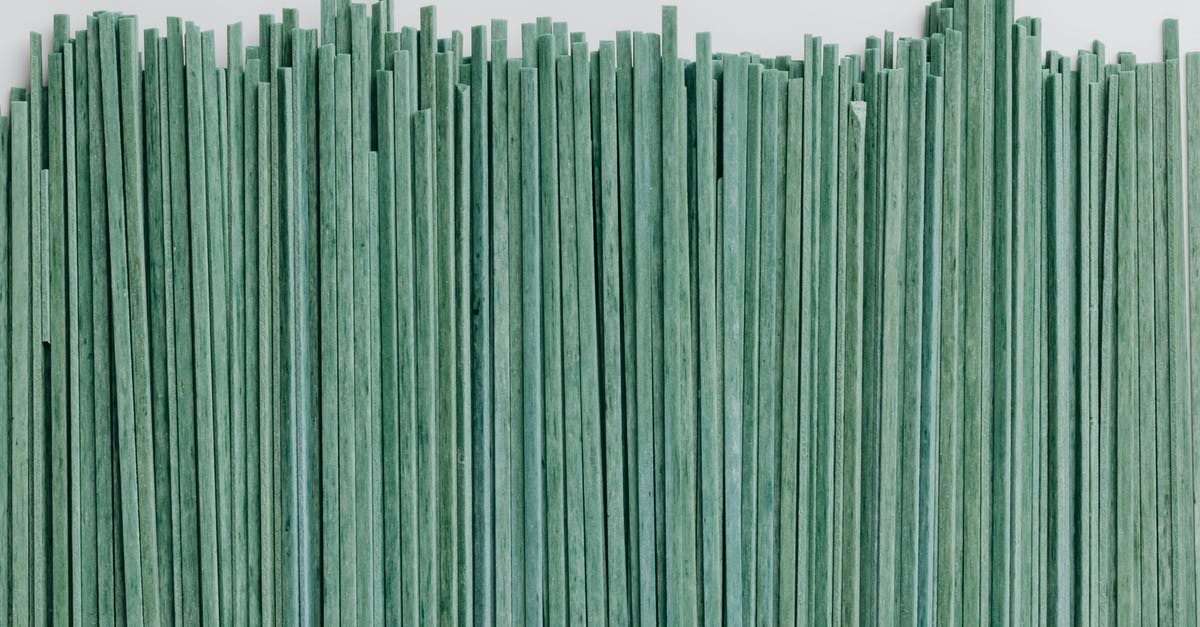 A close up of a green curtain