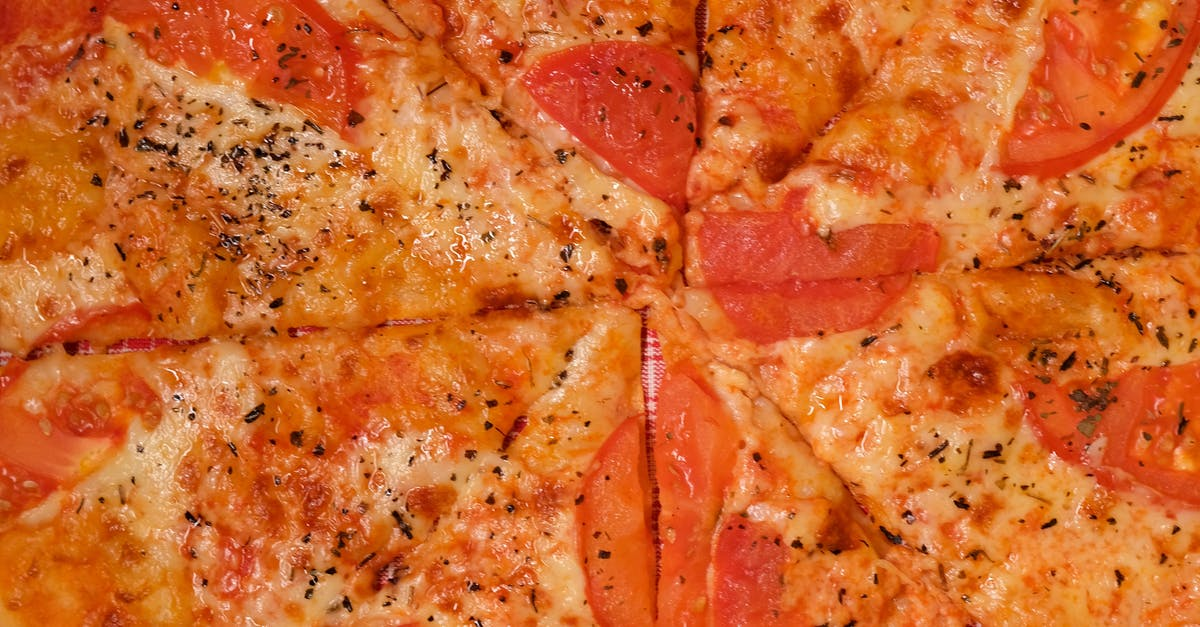 A close up of a slice of pizza